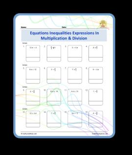 algebra inequalities expressions