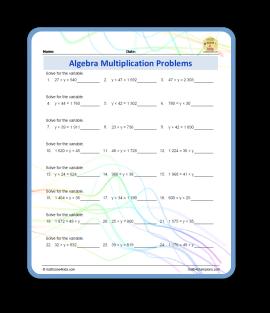 algebra multiplication