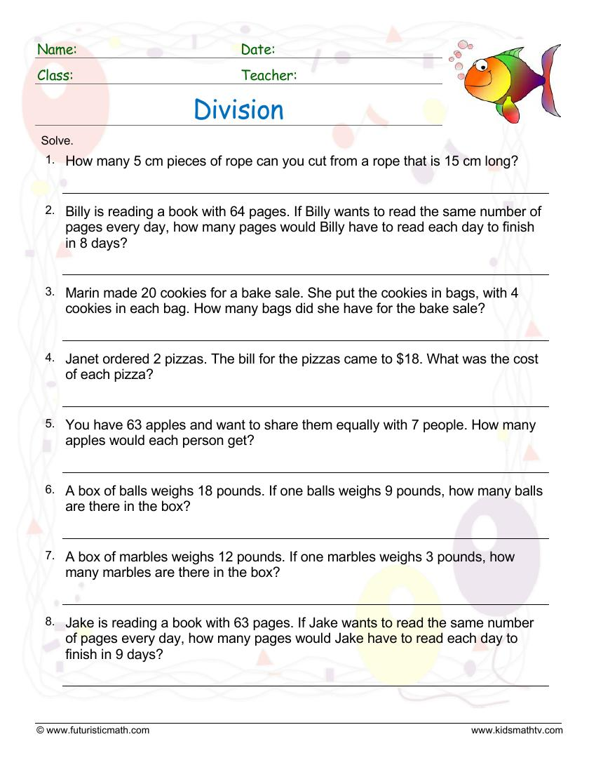 Division Word Problem 2