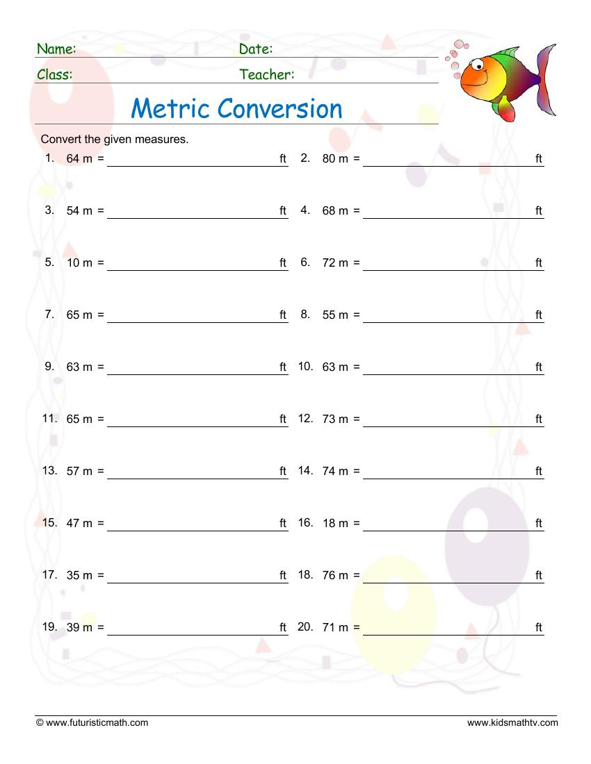 Convert From Meters To Feet